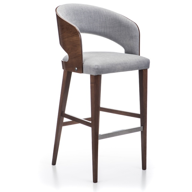RONDO bar stool with armrests