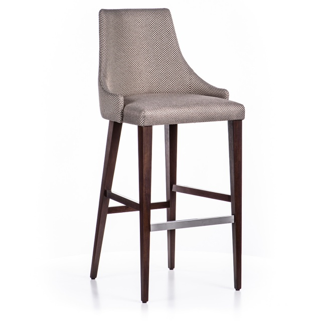 LUX GRANDE bar stool with armrests