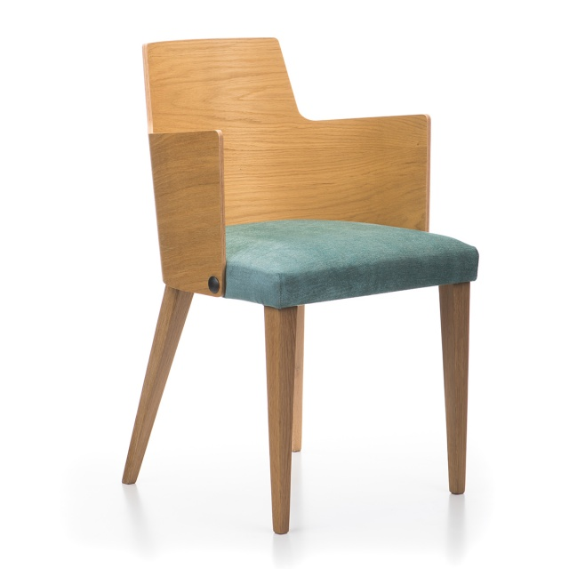 LUX WOOD armchair